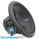 "P3D4-15 - Rockford Fosgate 15"" Dual 4 Ohm Stage 3 Series Subwoofer"