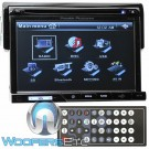 "Power Acoustik PD-710B In-Dash 1-DIN DVD Receiver with 7"" Touchscreen LCD Display and Bluetooth"