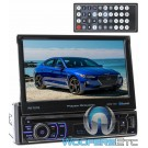 "Power Acoustik PD-721B In-Dash 1-DIN 7"" Motorized Touchscreen LCD DVD Stereo Receiver with Bluetooth"