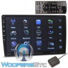 "Power Acoustik PDN-1060HB 2-Din 10.6"" CD DVD GPS Bluetooth Navigation"