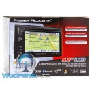 "Power Acoustik PDN-621HB In-Dash 2-DIN 6.2"" LCD DVD Receiver with MobileLink X2, Bluetooth Connectivity and GPS Navigation"