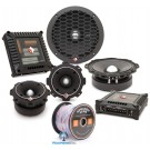 Rockford Fosgate PP6TX-PRO Pro Series 2-Way Component Speaker Set with Horn Tweeters and Crossovers
