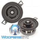 "Memphis PRX3 3.5"" 15W RMS 2-Way Coaxial Speakers"