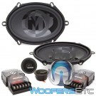 "Memphis PRX570C 5"" x 7"" 50W RMS 2-Way Component Speakers System"