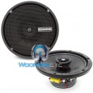 Memphis PRX602 50W RMS 2-Way Coaxial Speakers