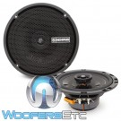 "Memphis PRX60 6.5"" 50W RMS Power Reference Series 2-Way Coaxial Speakers"