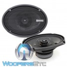 "Memphis PRX6902 6"" x 9"" 60W RMS 2-Way Coaxial Speakers"