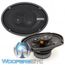 "Memphis PRX6903 6"" x 9"" 60 RMS 3-Way Coaxial Speakers"