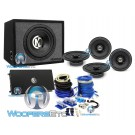 Memphis PKG5 Subwoofer, Amplifier, Coaxial Speaker, and Amplifier Wire Kit Package