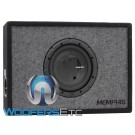 "Memphis PRXE8S 8"" 200W RMS 4-Ohm Enclosed Subwoofer"