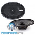 "Memphis PRXS69 6""x9"" 50W RMS 2-Way Shallow Mount Coaxial Speakers"