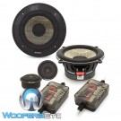 "Focal PS-130F 5.25"" 60W RMS 2-Way Flax Cone Component Speakers System"