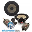 "Focal PS-165F 6.5"" 70W RMS 2-Way Flax Cone Component Speakers System"