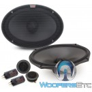 "Alpine R-S69C.2 6"" x 9"" 100W RMS 2-Way Component Speakers System"