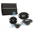 "pkg Focal R-690C 6""x9"" + R165C 6.5"" Coaxial Speakers + R4280 4-Channel Amplifier"
