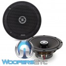"Focal RCX-165 6.5"" 60W RMS 2-Way Auditor Series Coaxial Speakers"