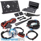 Rockford Fosgate RFK-HD9813 Installation Kit for Compact Power and Punch Series Amplifiers in select 1998-2013 Harley Davidson Motorcycles