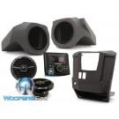 Rockford Fosgate RNGR-STAGE2 Stereo and Speaker Kit for Select Solaris Ranger