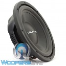 "Gladen RS-X 12 Slim 12"" 400W RMS 4-Ohm RS-X Line Series Subwoofer"