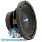 "Gladen RS08 8"" 175W RMS 4-Ohm RS Series Subwoofer"