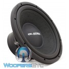 "Gladen RS12 12"" 400W RMS 4-Ohm RS Line Series Subwoofer"