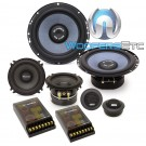 "Gladen RS165.3 6.5"" 170W RMS RS Line Series 3-Way Component Speakers System"