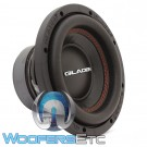"""Gladen RS-X 08 8"""" 250W RMS 4-Ohm Subwoofer"""