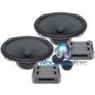 "Hertz CPK 690  6x9"" 120W RMS 2-Way Component Speakers System"