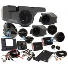 Rockford Fosgate RZR-STAGE4 600W Stereo, Front and Rear Speaker with Subwoofer Kit for Select Polaris RZR Models
