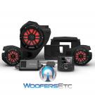 Rockford Fosgate RZR14-STG3 Audio Kit for Select 2014-Up Polaris RZR Models