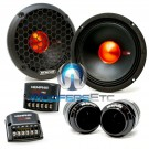 """Memphis MJP6C MOJO PRO 6.5"""" 250W Component Speakers with Tweeters and Crossovers"""