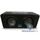 """Memphis M7E12D1 12"""" M7 Enclosure Subwoofers"""