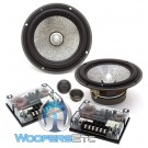 "Limited Edition Focal 6.5"" Utopia 2-Ohm Component Speakers System"