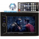 "Farenheit TI-623B In-Dash 2-DIN 6.2"" LCD Touchscreen DVD Receiver with Bluetooth"