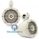 """Cerwin Vega VMC65 Gloss White 6.5"""" 60 Watts RMS Marine Tower Speakers"""