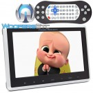 "Power Acoustik PHD-101 10.1"" LCD and Android Phonelink Universal Headrest Monitor Mount with DVD Player"