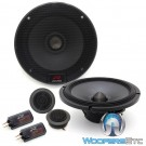 "Alpine R-S65C 6.5"" 100W RMS Type-R Series Component Speakers System"