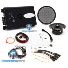 "Arc Audio MPAK8 Motorcycle Audio Kit with KS125.2 2-Channel Amplifier and Moto602 6.5"" Coaxial Speakers Compatible with 2014+ HD Street Glide Motorcycles"