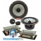 "Memphis VIV60C 6.5"" 80W RMS SixFive Series 2-Way Component Speakers System"