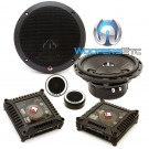"T165-S - Rockford Fosgate 6.5"" 160W RMS 2-Way Power Series Component Speakers System"