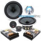 "CDT Audio CRM-62KiS 6.7"" 250W RMS 2-Way Component Speakers System"