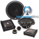 """Rockford Fosgate T16-S 6.5"""" 80W RMS Component Speakers System"""