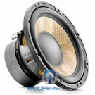 """Focal Sub P25FE 10"""" 300W RMS 4-OHM Flax Cone Dual Magnet Subwoofer"""