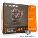 "Memphis Audio RZR10SE Powered 10"" Sub 400W Polaris RZR 2014 & Up Amplifier"