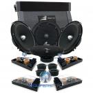 "pkg (2) Precision Power SC.65 6.5"" Component Speakers + ICE1000.4 Amplifier"