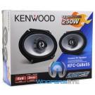 "KFC-C6865S - Kenwood 6"" X 8"" 250W 2-Way Custom Fit Coaxial Speakers"