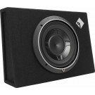 "Rockford Fosgate P3S-1X10 Slim 10"" 600W Subwoofer Bass Speaker Slim Enclosure"