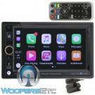 Power Acoustik CP-650 Digital Multimedia Bluetooth USB Apple Car Play Receiver