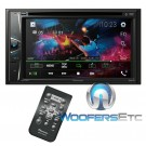 """Pioneer AVH-G225BT  In-Dash 2-DIn 6.2"""" Touchscreen CD, USB, DVD, and Bluetooth Stereo"""