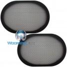 """Grill 6x9 - CDT Audio 6x9"""" Speaker Grills"""